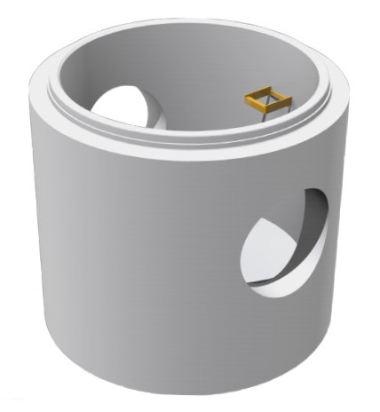 Podstawa studni betonowej DU | DUK
